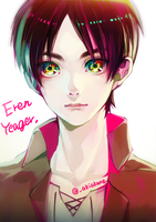 Eren Yeager by AkaneAki