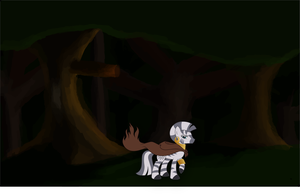 Zecora in the forest. by Thumper314