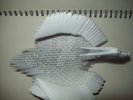 small Papermodulobject  metamorphoses 151 by papermodulgirl
