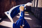 Fate/Stay Night - Saber III by Calssara
