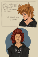 KH - We are Nobodies by borearisu