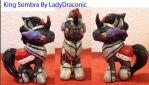MLP Friendship is Magic King Sombra Blind Bag Pony by LadyDraconic
