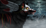 Through the Mist - YCH by Imaginary-Rat