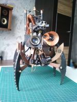 Reconnaissance attack drone 8 by tokaracer