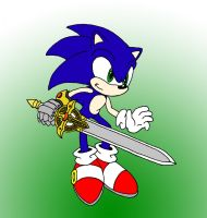 Sonic and Calibur by Wakeangel2001