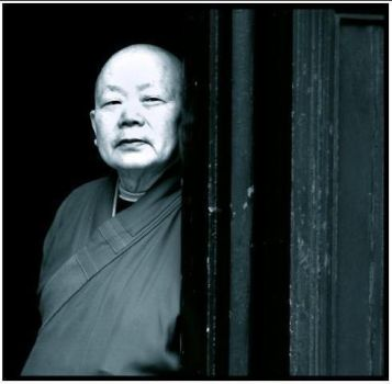 Bhuddist Monk In China by kimjew