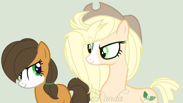 Amaryllis and Honey Blossom. Universe cross. by sexy101v