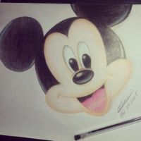Mickey Mouse by lucatoon