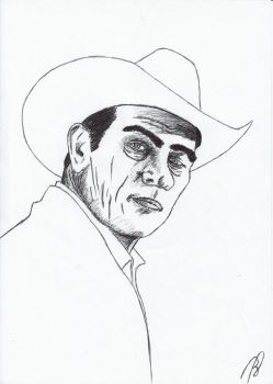 Tommy Lee Jones by FireMoose