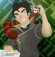 Bolin and Pabu - Vector by eduardowar