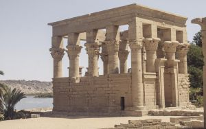 Philae, Trajan's Kiosk, Aswan, Egypt by Drfayed