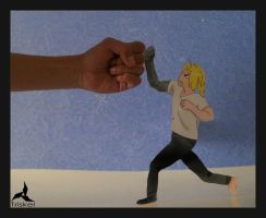 Edward elric was fighting with me by jostikero