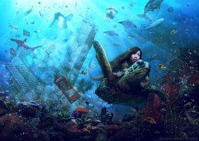 Underwater PhotoManipulation by OCMay