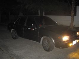 Nissan Sunny Night Shot by pete7868