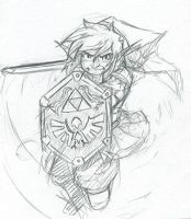 Summer Of Sketches: Link by LastRyghtz