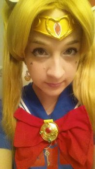 sailor moon make up test by SuspiciousGoodness