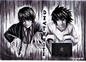 DEATH NOTE by milliscent1407