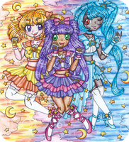 Celestial Pretty Cure! by sekaiichihappy