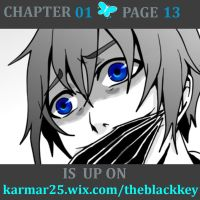 THE BLACK KEY  pg 13 by kalisami