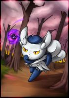 Pokemon - Meowstic F by JacyA
