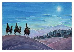 Three Wise Men by Zephyri