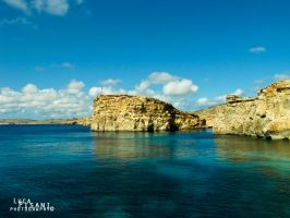Comino's Refections by Maltese-Naturalist