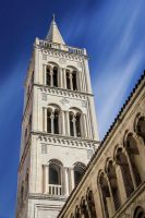 Cathedral Tower, Zadar by cwaddell