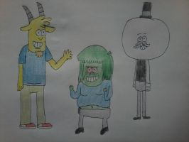 Characters from Regular Show (Main 2) by AngeloCN