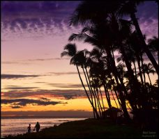 A Maui Sunset by Recalibration