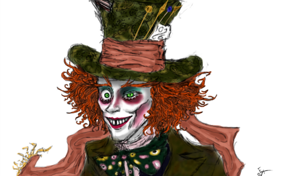 The Mad Hatter by NoOneElseThanEya