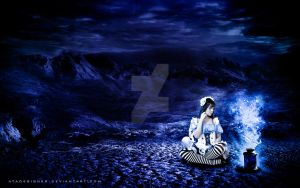 .: Alice with Magical Lamp :. by Ata-Ur-Rehman