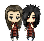 [C] Madara and Hashirama Pagedoll by Ita-Freak