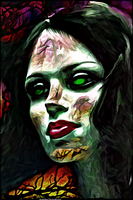 Digital Painting: Mary Quite Contrary by UkuleleMoon