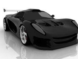 Exige front view final by 4G0NY