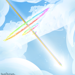 Sonic Rainboom by QuinePeather