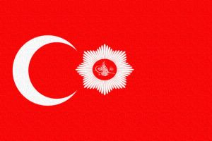 Ottoman Imperial Banner by DaemonofDecay