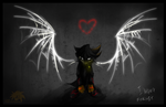 I won't forget,I cannot forget by SpyxedDemon