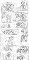 Giant storyboard sketchdump by kyla79