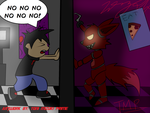 Markiplier and Foxy by ToniMizukiPrime