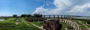 Fort Pike (Pano) by Deoradhain