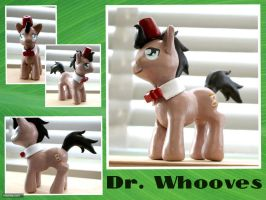 Dr. Whooves Sculpture by TheOGCarrieP