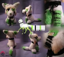 Barcode plush by Siplick