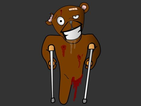 Handicap Animals - Jeeves The Bear by Ranchmaker