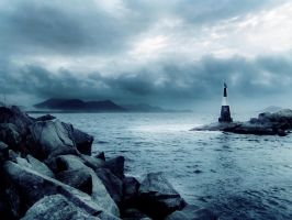 Small Lighthouse -revisited- by think0