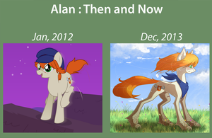 Alan : Then and now by Ruaniamh