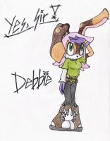 Debbie Yes Sir by Vic-the-Mouse