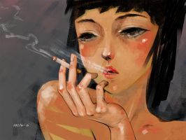smoking by 29chelizi