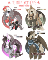 My Little Adoptables: Winter Coats [ Over! ] by Narrowed