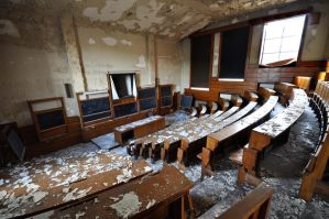 Lecture Theatre by baldrickthecunning