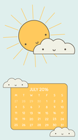 July 2016 Wallpaper (Small) by apparate